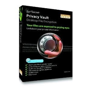 SurfSecret Privacy Vault - Desktop File Encryption