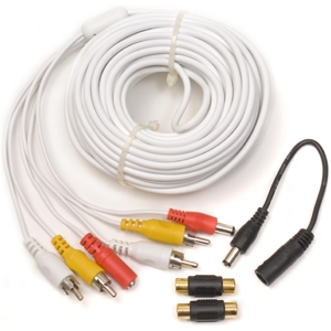 Q-See 60-Foot Audio/Video Power Cable with Gender