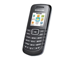 Samsung E1086 Red Pocket Unlocked GSM Cell Phone