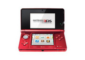 3DS HARDWARE FLAME RED-NLA