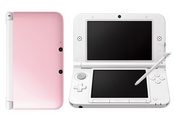 3DS XL HARDWARE PINK/WHITE