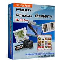 A4DESK FLASH GALLERY BUILDER - STARTER PACK