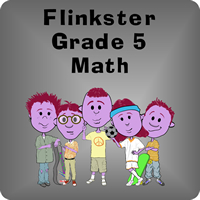 FLINKSTER GRADE 5 MATH FOR WINDOWS