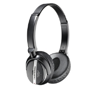 Audio-Technica ATH-ANC25 QuietPoint Active Noise-Cancelling Headphones - On-Ear, Frequency Response: 20 - 20,000 Hz