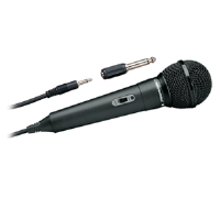 Audio-Technica ATR1100 Unidirectional Dynamic Handheld Microphone - Vocal / Instrument Ideal, Focused Pickup