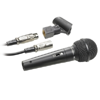 Audio-Technica ATR1500 Cardioid Dynamic Microphone - Vocal / Instrument, Enhanced Warmth