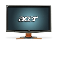 Acer GD235HZ bid 24&quot; Class Widescreen LCD HD Monitor - 1080p, 1920x1080, 80000:1 Dynamic, 120Hz, 2ms, 3D-Ready, VGA, DVI, HDMI