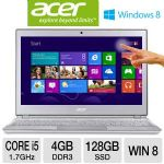 Acer Aspire S7-191-6640 NX.M42AA.001 Ultrabook - 3rd generation Intel Core i5-3317U 1.7GHz, 4GB DDR3, 128GB SSD, 11.6&quot; Full HD Multi-Touch, Windows 8 64-bit, Silver