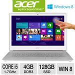 Acer Aspire S7 S7-391-6810 NX.M3EAA.001 Ultrabook PC - 3rd Gen. Intel Core i5-3317U 1.7GHz, 4GB RAM, 128GB SSD, 13.3&quot; Touchscreen Display, Windows 8 64-bit