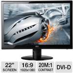 "AOC 22"" Widescreen LED Monitor - e2252Swdn"