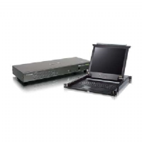 "Iogear 16-Port PS/2 USB Combo KVM with 17"" Rack Mount LCD Bundle - PS/2"
