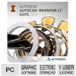 Autodesk AutoCAD Inventor LT Suite '14 - Single License, Electronic Download (596F1-WWR111-1001)