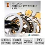 Autodesk AutoCAD Inventor LT Ste '14 Upgrade Software - Upgrade from AutoCAD LT Current Version, Electronic Download (596F1-WWR711-1001)