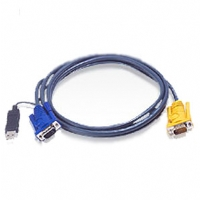 Aten 10-Foot PS/2 to USB Intelligent KVM Cable-2L5203UP