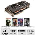 Sapphire Radeon HD 7950 11196-16-20G Video Card - 3GB GDDR5, PCI-Express 3.0(x16), 1x Dual-Link DVI-I, 2x Mini DisplayPort, 1x HDMI, DirectX 11, CrossFireX, Dual-Slot, Dual-Fan