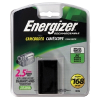 Energizer ERC168 Lithium-ion Camcorder Battery - Compatible with JVC Camcorders