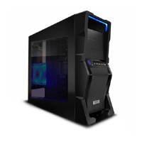 NZXT M59-001BK M59 Gaming Mid Tower Case - ATX, mATX, Baby AT, Black