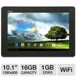 ASUS MeMO Pad Smart Tablet - Android 4.1 Jelly Bean, NVIDIA Tegra 3 1.2GHz, 1GB DDR3, 16GB Flash Storage, 10.1&quot; Multi-Touch Screen, Dual Webcams, Blue (ME301T-A1-BL)