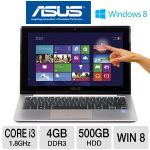 ASUS VivoBook X202E - 3rd generation Intel Core i3-3217U 1.8GHz, 4GB DDR3, 500GB HDD, 11.6 TouchScreen, Windows 8 64-bit, Pink (X20XE-DH31T-PK)