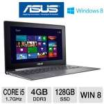 ASUS Taichi21-DH51 Ultrabook - 3rd generation Intel Core i5-3317U 1.7GHz, 4GB DDR3, 128GB SSD, 11.6&quot; Dual LED-backlit Screen, Tablet-Mode Touchscreen, Windows 8 64-bit