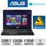 "ASUS G75VW 17.3"" Core i7 500GB Gaming Notebook and Intel Laptop Anti-Theft Lock Down Secure Service Bundle"