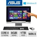 "Asus All-In-One Transformer - 3rd Gen. Intel Core i5-3350P 3.10GHz, 8GB DDR3, 1TB HDD, DVDRW, 2GB NVIDIA GeForce GT 730M, 18.4"" Touchscreen, Windows 8 64-bit, Keyboard & Mouse, (P1801-B037K)"