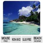 NatureSmart 30181 D-Argent Beach Mouse Pad - Beach Scene