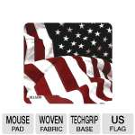 Allsop US Flag Soft Top Mouse Pad