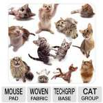 ALLSOP Mouse Pad  Cat Group