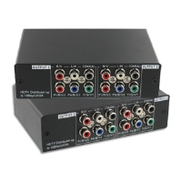 Atlona AT-COMP13AD Component Audio Distribution Amplifier - Digital, Analog, Plug and Play, Component, Composite, 1080p Support, S/PDIF, High Bandwidth Performance
