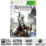 Ubisoft Assassin's Creed 3 Xbox360 Game - ERSB M, Action/Adventure
