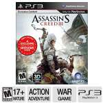 Ubisoft Assassin's Creed 3 PS3 Game - ERSB M, Action/Adventure