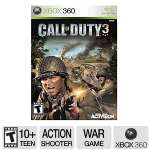 Activision Call Of Duty 3 Shooter Video Game - Xbox 360, ESRB: T