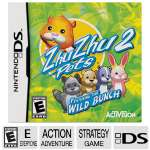 Activision ZhuZhu Pets 2: Featuring The Wild Bunch Action Video Game - Nintendo DS, ESRB: E