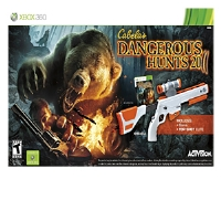 Activision Cabela's Dangerous Hunts 2011 Video Game Bundle - Xbox 360, Includes Top Shot Elite Rifle, ESRB: T