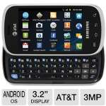 "AT&T Samsung Galaxy Appeal i827 65507 Prepaid Cellphone - 3G, Android OS, 3.2"" Display, QWERTY, Touchsreen, 3MP Camera, Web Browser, Bluetooth, Built-in WiFi, 512MB RAM, 1.8GB ROM"