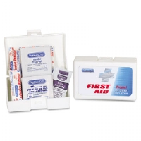 Personal First Aid Kit, 38 Pieces, Plastic Case