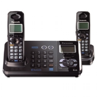 Bluetooth Compatible Cordless Telephone, 2 Handsets