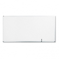 Standard Dry-Erase Board, Melamine, 96 x 48, White, Aluminum Frame