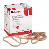 Rubber Bands, Size 117, 7 x 1/8, 53 Bands/1/4lb Pack
