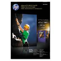 HP Advanced Photo Paper - Glossy photo paper - 4 in x 6 in - 210 g/m2 - 100 sheet(s) - for Officejet 4500, 4500 G510, 6500, 6500A E710, 7500A E910; Officejet Pro 8500, 8500A (Q6638A)
