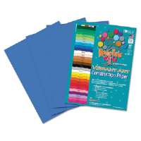 Heavyweight Construction Paper, 58 lbs., 9 x 12, Blue, 50 Sheets/Pack