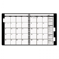 "Appointment Book Refill For Three- Or Five-Year Planner, Black, 9"" x 11"", 2014"