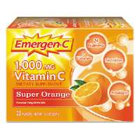 Immune Defense Drink Mix, Super Orange, 0.3 oz Packet, 50/Pack