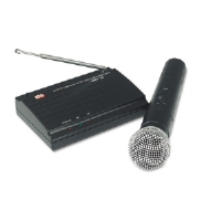 AmpliVox Sound Systems Wireless Handheld Microphone Kit, 300 ft. Radius (S1620)