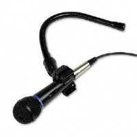 AmpliVox Sound Systems Professional Cardioid Dynamic Handheld Microphone, 15-ft. Cable (S2030A)