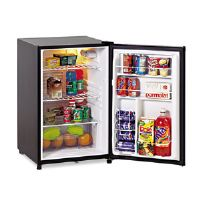 Counter Height 4.5 Cu. Ft. Refrigerator with Crisper, Black