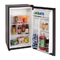 3.4 Cu. Ft. Refrigerator with Chiller Compartment, Black
