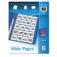 Photo Pages for Twenty 2 x 2 Slides, 3-Hole Punched, 10/Pack