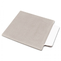 NoteTabs-Notes, Tabs and Flags in One, White/Taupe, Three Inch, 10/Pack